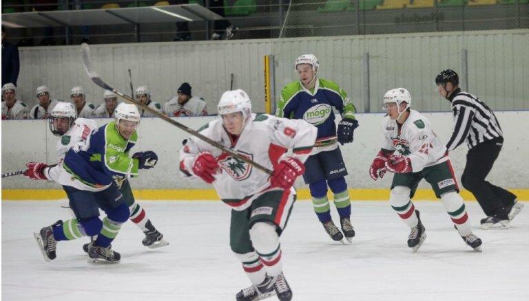 Foto: 'Mogo' OHL mačā pagarinājumā pieveic 'Liepāju'