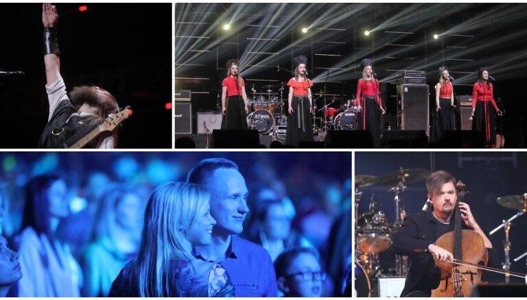 Foto: Izskanējis koncerts smagi slimu cilvēku atbalstam 'Vienoti par iespēju'