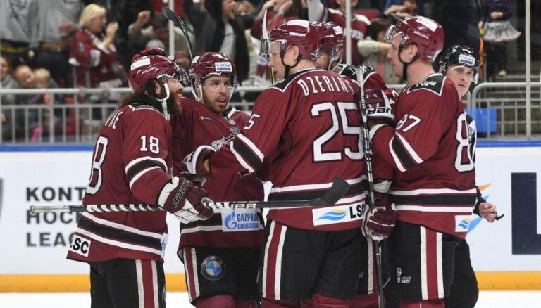 Rīgas 'Dinamo' nosargā uzvaru pret Maskavas apgabala 'Vitjaz'