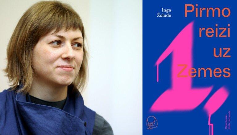 Inga Žolude debitē bērnu literatūrā ar grāmatu 'Pirmo reizi uz Zemes'