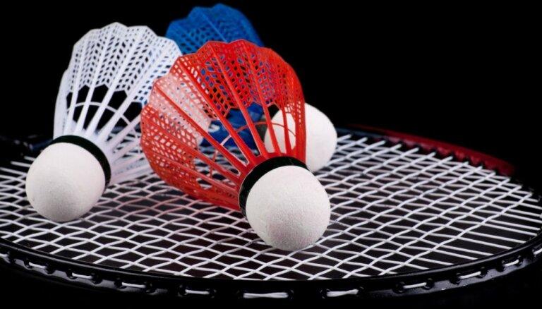 Krievijas badmintona spēlētāji līderpozīcijās 'Yonex Latvia U17 International' turnīrā Siguldā
