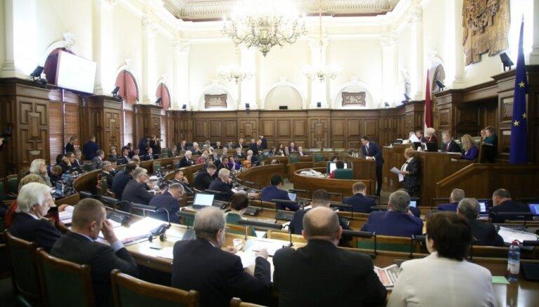 13. Saeimā nepārvēlēto deputātu kompensācijām nepieciešami 610 374 eiro