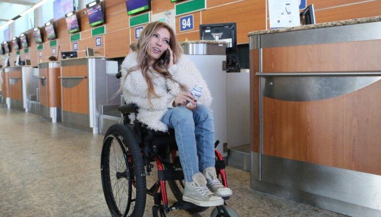 Krievijas pārstāvei 'Eirovīzijā' aizliegts iebraukt Ukrainā
