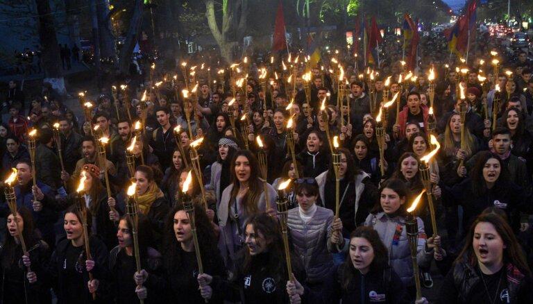 Stambulā neļauj pieminēt 104. gadskārtu kopš armēņu genocīda