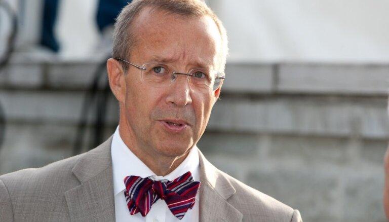 Igaunijas prezidents kritizē Šveici par nevēlēšanos ieviest sankcijas pret Krieviju