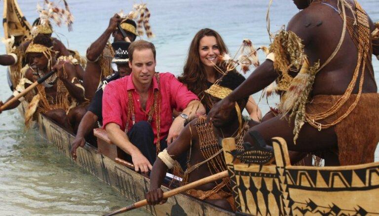 Островитяне обиделись на принца Уильяма и Кейт Миддлтон