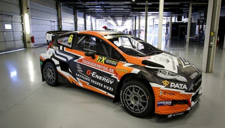 Foto: 'Team STARD' parāda Baumaņa šāgada 'World RX' sezonas auto