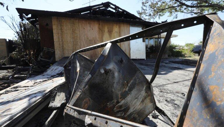 Foto: Kaliforniju satricina 6,4 magnitūdu zemestrīce