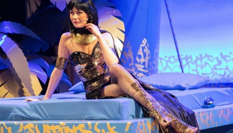 Foto: Liepājas teātrī pirmizrādi piedzīvos Džilindžera 'Kleo-Kleo-Kleo-Patra'