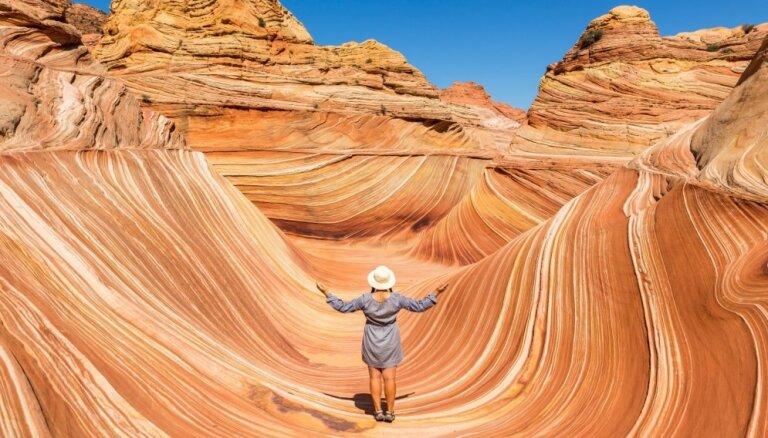 Savdabīga klints ASV, kuras apmeklējums ir visai ekskluzīvs