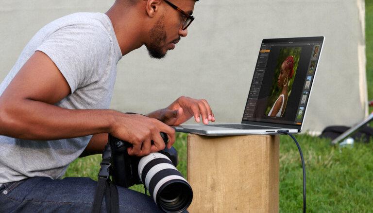 Vēl divreiz ātrāki - 'Apple' piesaka jaunos 'Macbook Pro' klēpjdatorus