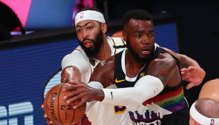 'Nuggets' neļauj 'Lakers' palielināt pārsvaru NBA pusfināla sērijā