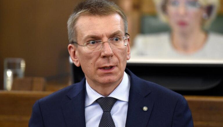 Глава МИД Латвии призвал защитить выборы в Европе от вмешательства