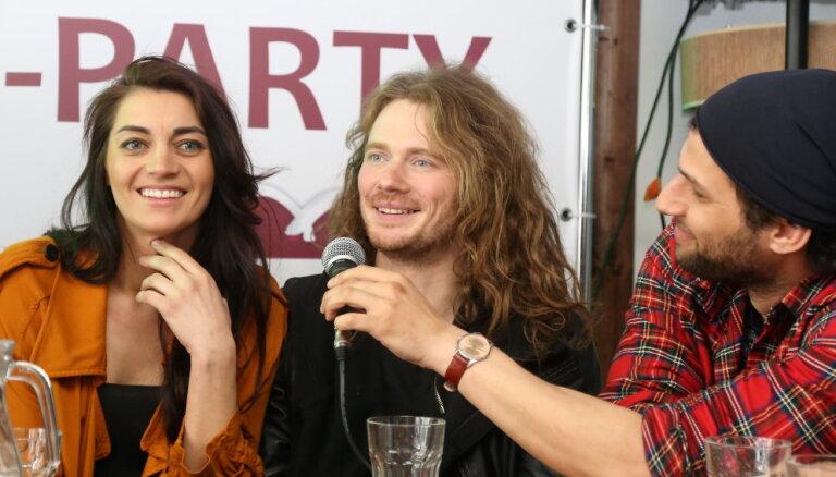 Foto: 'Carousel' pošas 'Eirovīzijas' iesildošajam koncertam Rīgā
