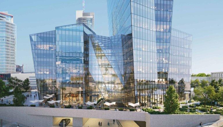 Viļņā taps pasaulē atzīta arhitekta projektēts debesskrāpis
