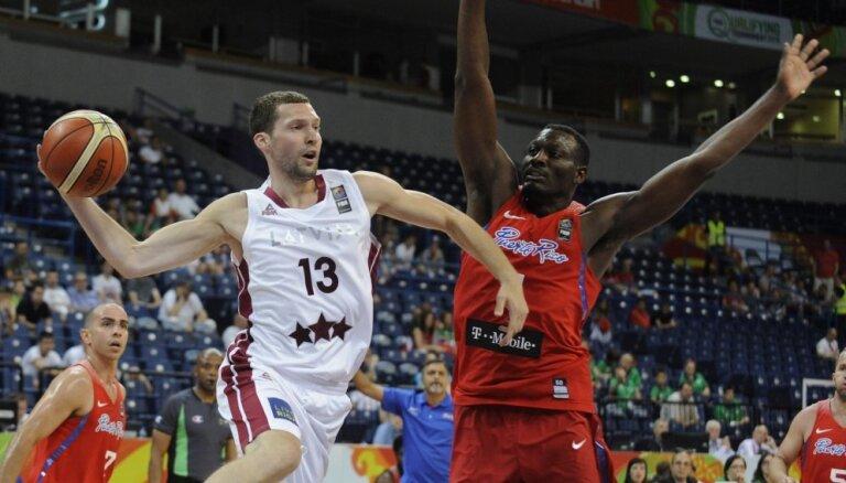 Пуэрториканцы лишили латвийских баскетболистов мечты сыграть на Олимпиаде