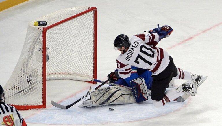 Масальский — среди лучших, Индрашис — новый лидер сборной Латвии