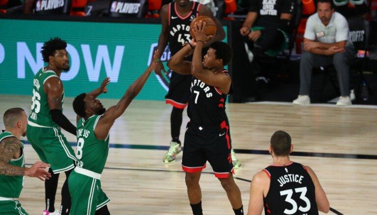 'Raptors' divu papildlaiku trillerī nodrošina sērijas septīto spēli