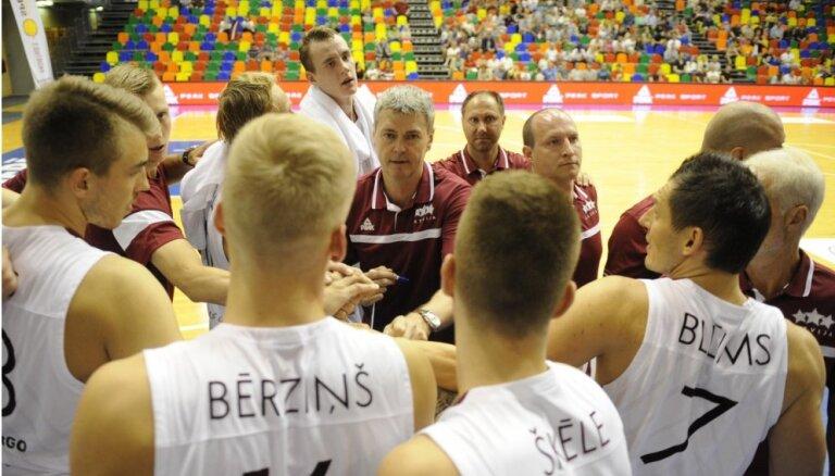 Latvijas basketbolisti Belgradā sāk cīņu par lielo sapni - Rio Olimpiādi