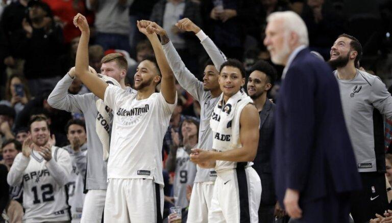 Medijs: Sanantonio 'Spurs' vadībai pievienosies NBA čempions un komentētājs Brents Berijs