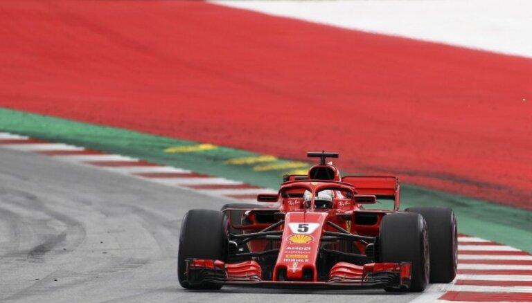 Fetels uzstāda ātrāko apļa laiku noslēdzošajā Kanādas 'Grand Prix' treniņsesijā