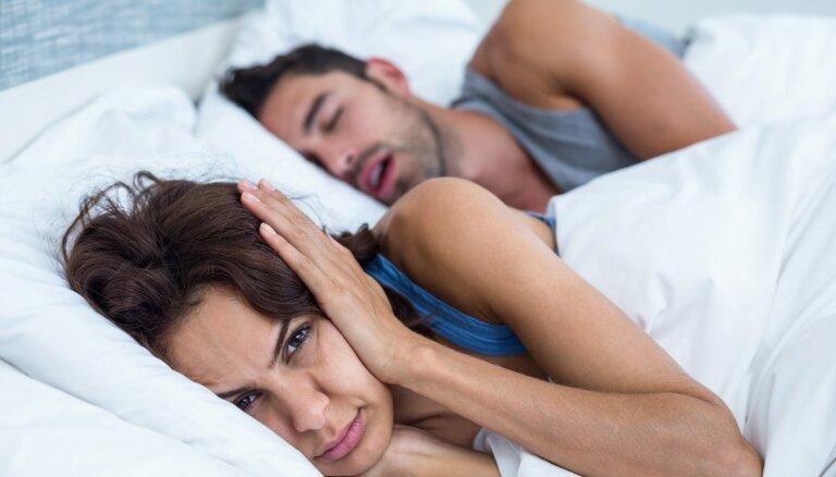 Domājot par savu un kaimiņa miegu: krākšanas iemesli un iespējamie risinājumi