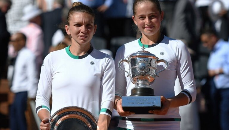 Gada apbēdinājums WTA – Halepas zaudējums Ostapenko 'French Open' finālā
