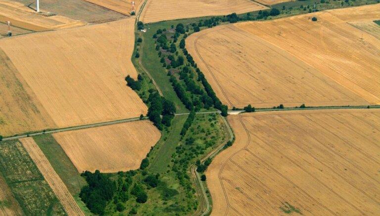 Foto: Nāves josla Vācijā, kas kļuvusi par 1400 kilometrus garu dabas parku