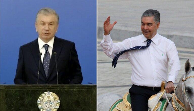 Turkmēņi un uzbeki vienojas sadarboties ar Tadžikistānas naidnieku 'Taliban'
