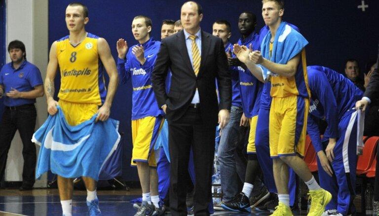'Ventspils' basketbolisti Izaicinājuma kausā uzvar vienu no Francijas līgas līderiem 'Dijon Basket'