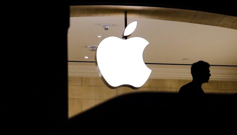 'Apple' kļuvis par pirmo vairāk nekā triljonu dolāru vērto privāto uzņēmumu