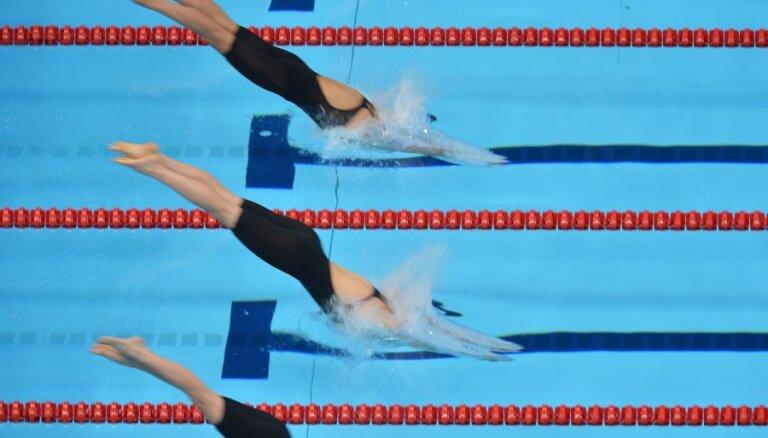 Olimpiskās medaļnieces Rubļevskas meita labo vienu no senākajiem Latvijas peldēšanas rekordiem