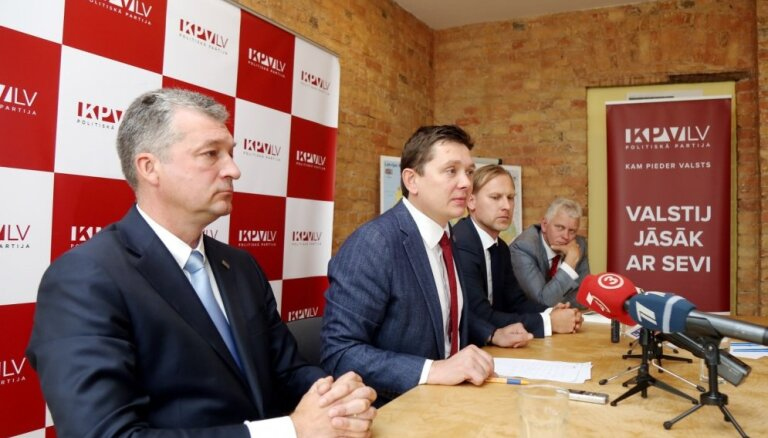 Video: 'KPV LV' naudas krimināllieta – politiskais spēks sasauc preses konferenci