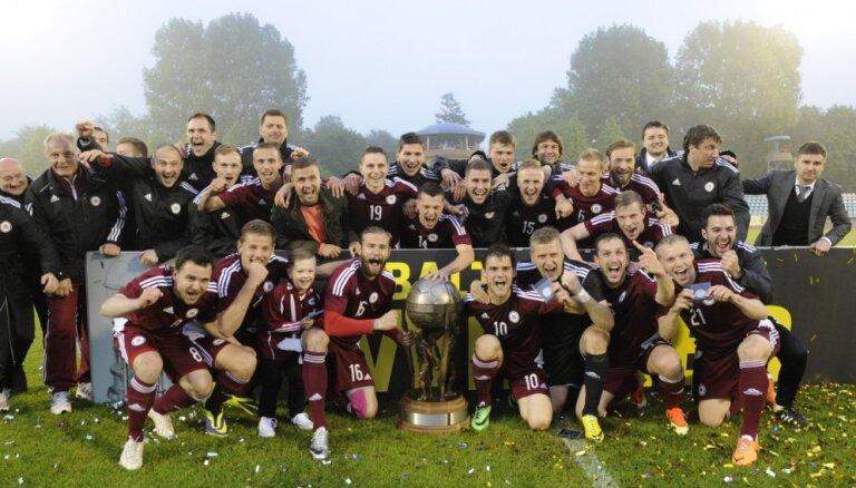 Победа в Кубке Балтии не подняла сборную Латвии в рейтинге ФИФА
