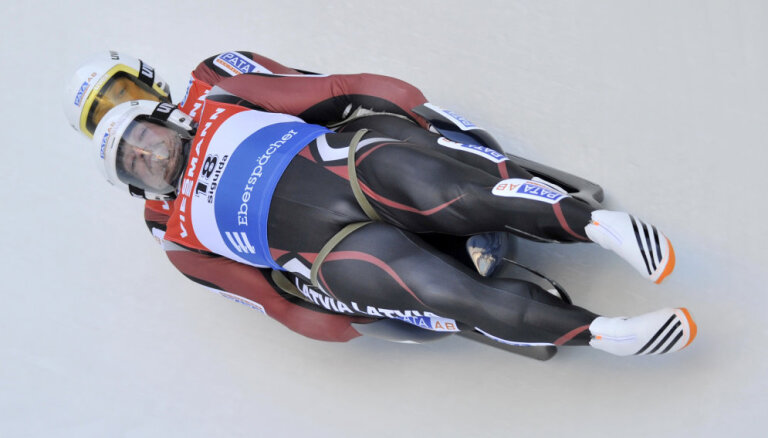 Latvijas kamaniņu sportisti Eiropas čempionātā Siguldas trasē spēkus netaupīs, uzsver treneris Dumpis