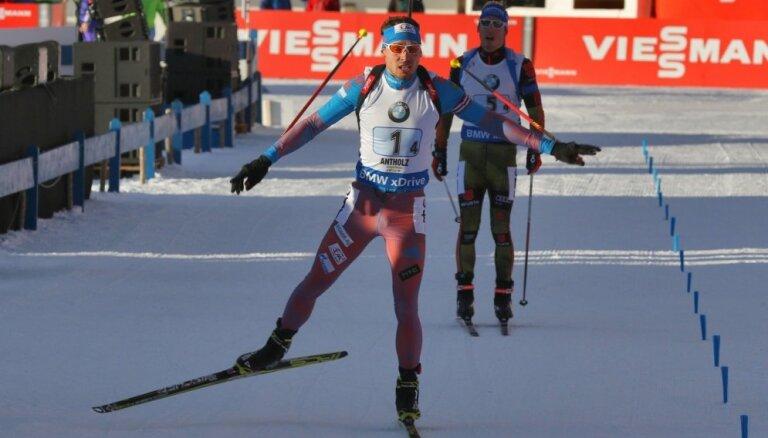 Krievijas biatlonists Šipuļins liek punktu savai karjerai