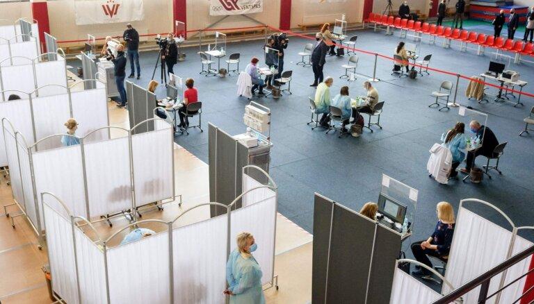 В первый день работы центров массовой вакцинации планируется привить 2800 человек