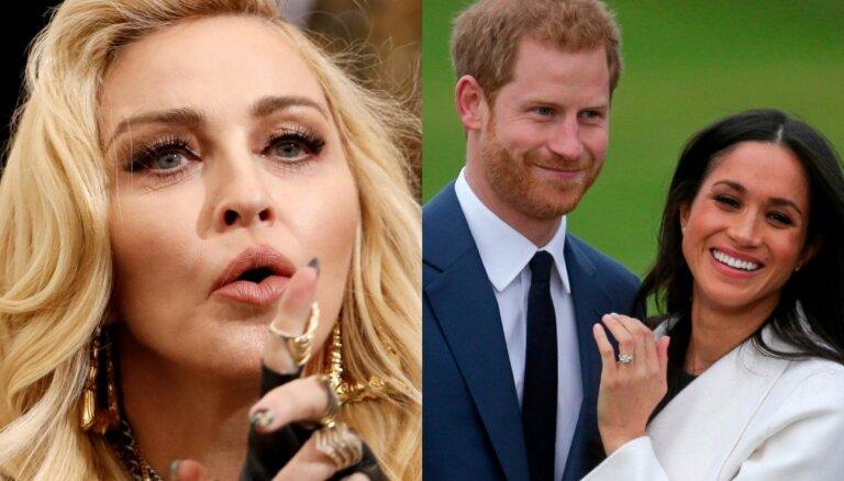 Popzvaigzne Madonna piedāvā Harijam un Meganai dzīvot viņas apartamentos Ņujorkā