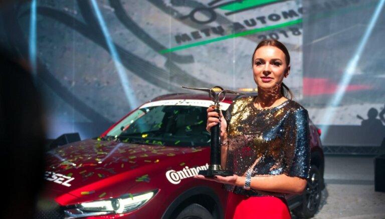 Foto: Lietuvā par Gada auto atzīts 'Mazda CX-5'