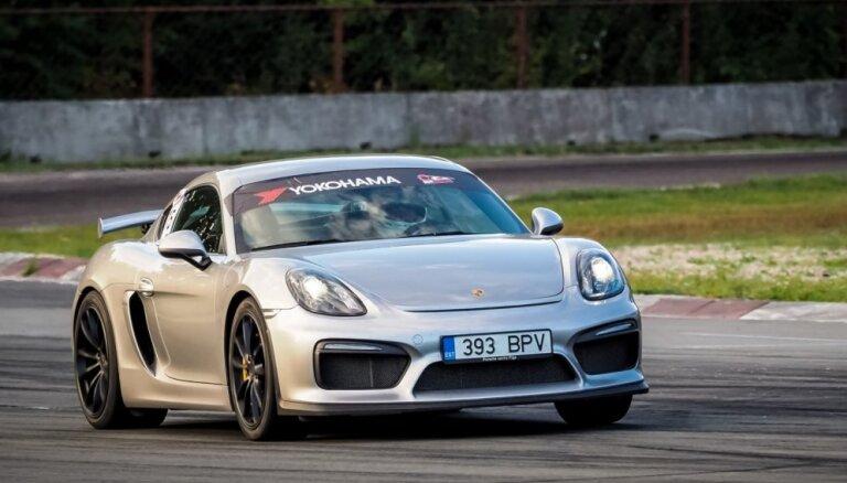 Minišosejā dramatiskas cīņas – Skultem ar 'Porsche Cayman' pirmais pjedestāls