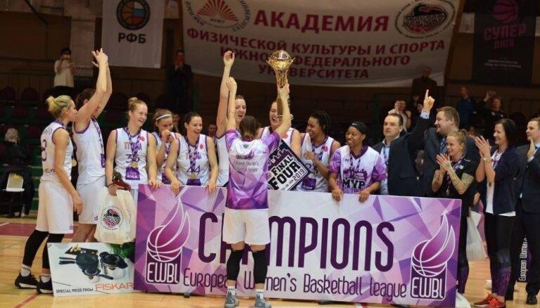 Eiropas Sieviešu basketbola līga plāno palielināt komandu skaitu, TTT naudas balva - 5000 eiro