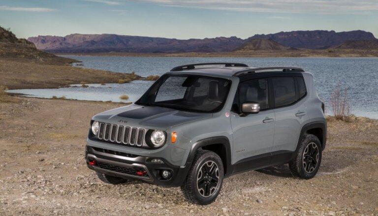 Latvijā 'Jeep Renegade' maksās no 18 tūkstošiem eiro