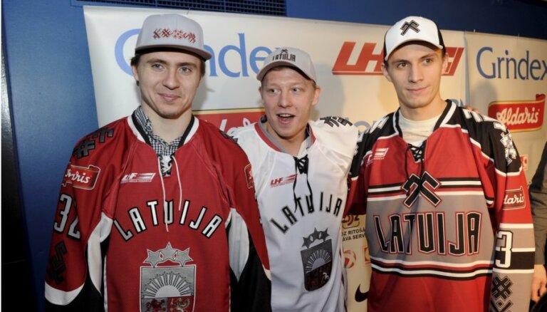 Представлена новая форма хоккейной сборной Латвии