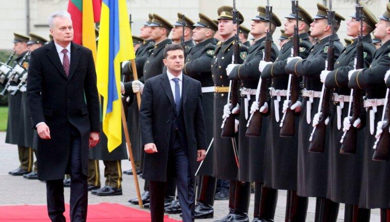 Президент Литвы встретился с Зеленским: пожелал не идти на уступки в ходе переговоров