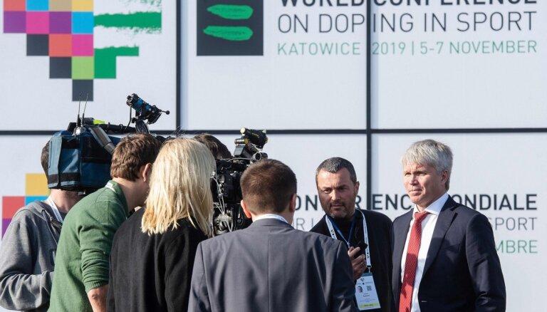 WADA decembra sākumā lems par Krievijas Antidopinga aģentūras nākotni