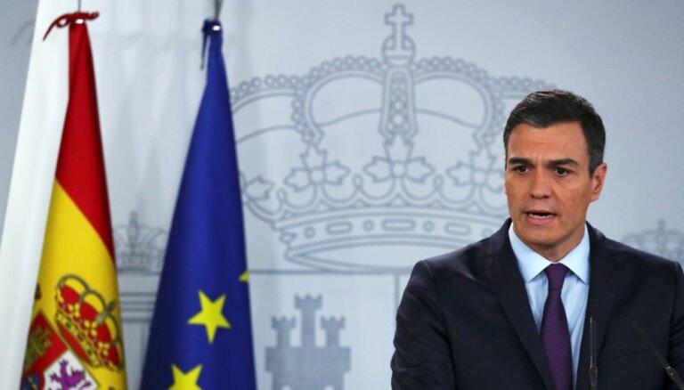 Spānijas premjers trešdien varētu izsludināt pirmstermiņa vēlēšanas