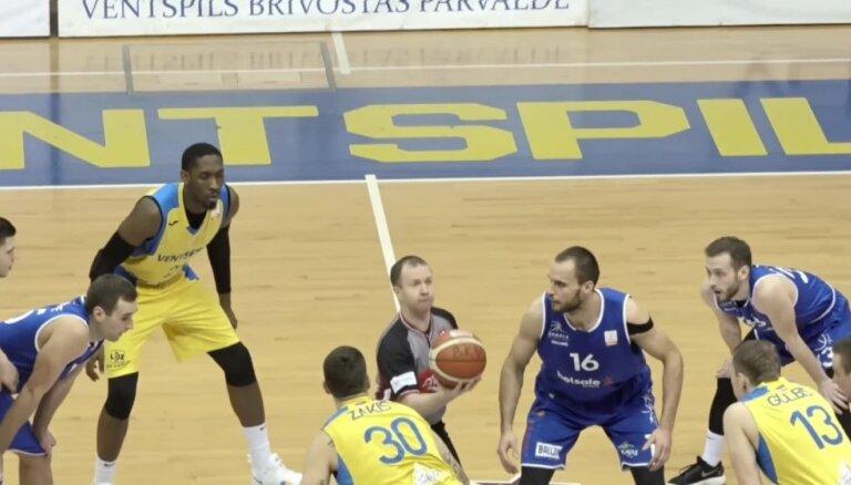 'OlyBet' basketbola līga: 'Ventspils' - 'Jūrmala/Betsafe'. Spēles labākie momenti