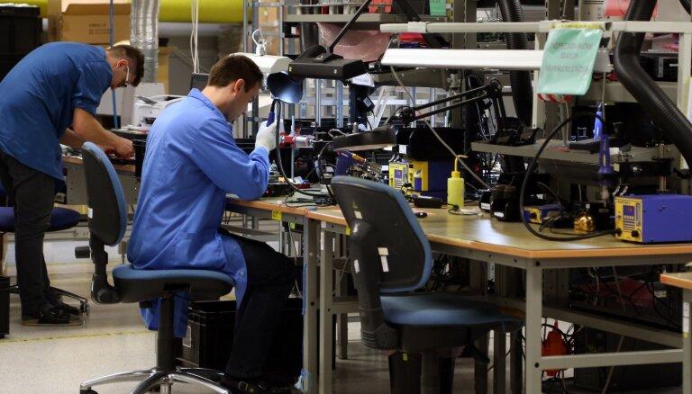Martā apstrādes rūpniecības izlaide saglabājusi stabilu pieauguma tempu
