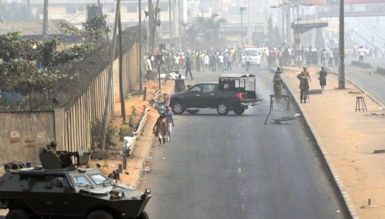 Нигерийские боевики заявили о казни семерых иностранцев