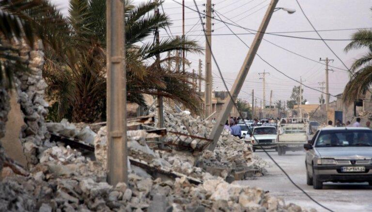 Irānā 5,9 magnitūdu zemestrīcē pieci bojāgājušie un 120 ievainotie